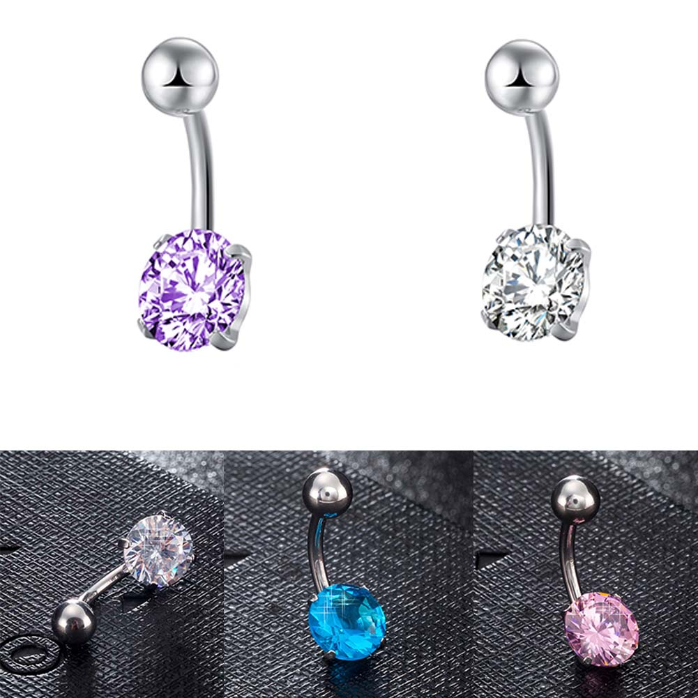 zheFanku Belly Button Ring Body Piercing Jewelry Navel