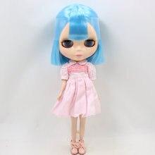 Factory Neo Blythe Doll Blue Hair Regular Body 30cm