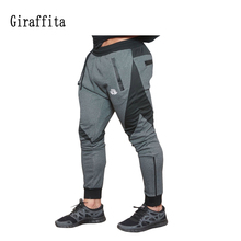 Mens Gyms Fitness Pants Sweatpants Pant Casual Bodybuilding Trouser Running Male Trousers