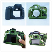 New Soft Silicone Rubber Camera Protective Body Cover Bag For Nikon D90 D3300 3200 3100 Camera