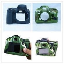 Новинка! Мягкая силиконовая резина Камера защитный Средства ухода за кожей Обложка сумка для Nikon D90 D3300 3200 3100 Камера сумка