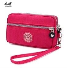 Zhuoku Women Messenger Bags waterproof nylon pochette sac femme girl chain zero wallet makeup bag mobile phone