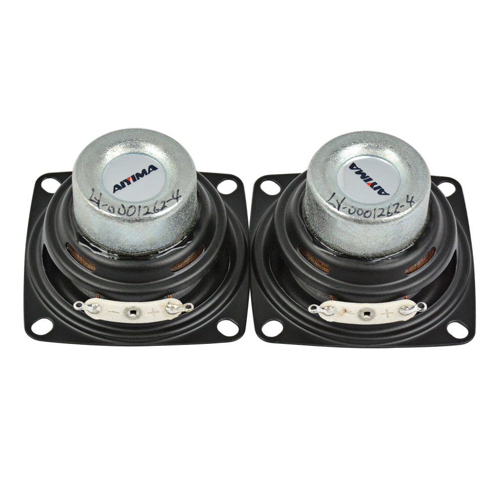 Melo David Audio Peerless P830986 3 Inch Aluminun Cone Neo Magnet Fullrange Speaker Free Shipping Lovely Pair 2 Pcs