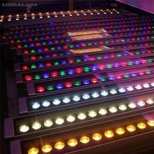 10 шт./лот rgb светильник прожектора стены ip65 24 Вт rgb dmx512 Тайвань Epistar 120lm/w L1000mm* W46mm* H46mm