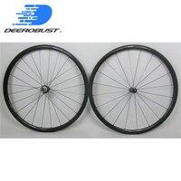 Straight Pull 700c 30mm Road Bicycle Carbon Tubular Wheels bike wheelset Powerway R36 Bitex BX305 Novatec hubs 20 24 Holes UD 3K