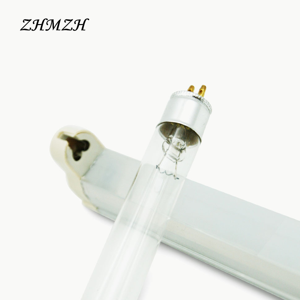 T5 Disinfection Cabinet Ultraviolet Lamp 220V Quartz linear Lights Germicidal Lamps For Sterilization 4W 6W 8W UV Tube цена