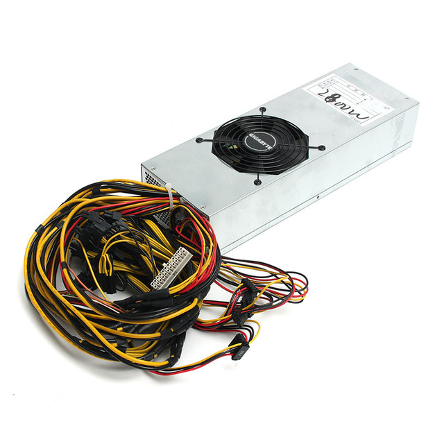 2800W Antminer Mining Power Supply for Eth ZEC Rig Bitcoin Miner Antminer S7 S9 for L3+ D3 Mining Platinum Power Supply