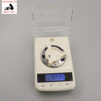 Free shipping 50g/0.001g gold digital carat pocket palm scale Mini diamond gems kitchen Milligram scale jewelry weighing balance
