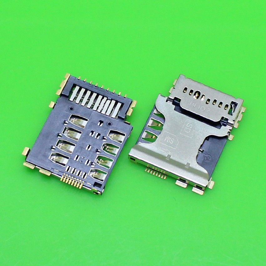 15pcs/lot New SIM Micro SD Memory TF Card Tray Reader Holder For Samsung Galaxy Core I8262