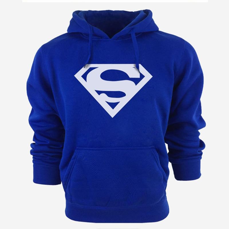Superman New Hoodies Men Brand Designer Mens Sweatshirt Men with Luxury Harajuku Sweatshirt Men Brand XXL