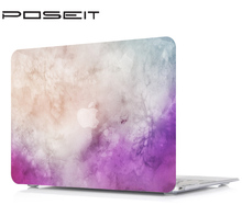 New Plastic Marble Grain Hard Case Cover Laptop Shell+Keyboard Cover For Apple Macbook Air 11 13 Pro Retina Touch Bar 12 13 15 fashion marble grain matte hard case for apple mac macbook air 11 13 pro 13 15 retina 12 shell laptop bag case cover