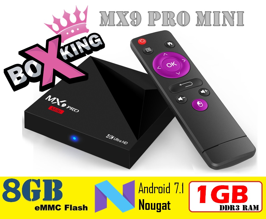 Mx9 Pro Mini RK3328 Quad-Core Android 7.1 Wifi 2.4G 1GB Ram 8GB Rom Set Top TV Box (A5X Plus Mini A5X Max Plus Z28 A95X R2) -0- new style a5x plus 8 second boot android 7 1 tv box rk3328 quad core 1gb 8gb smart mini media player 2 4g wifi 4k