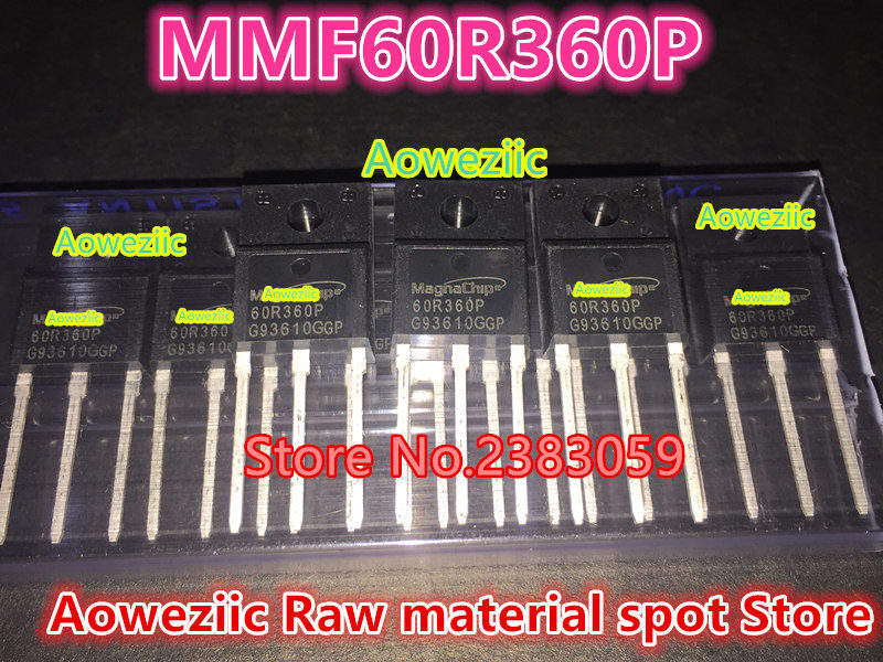 все цены на Aoweziic 100% new imported original  60R360P  MMF60R360P TO-220F MOS FET онлайн