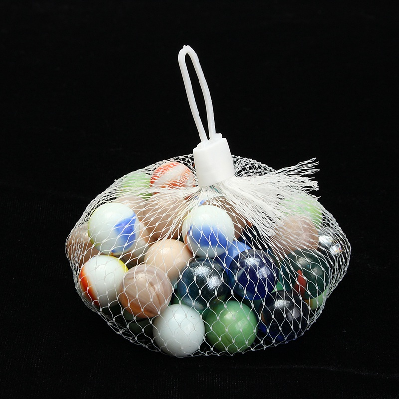 Modern 45x Colorful Glass Marbles Children Toys Glass Ball Kids Traditional Game Play Craft Art Gifts For Home Decor