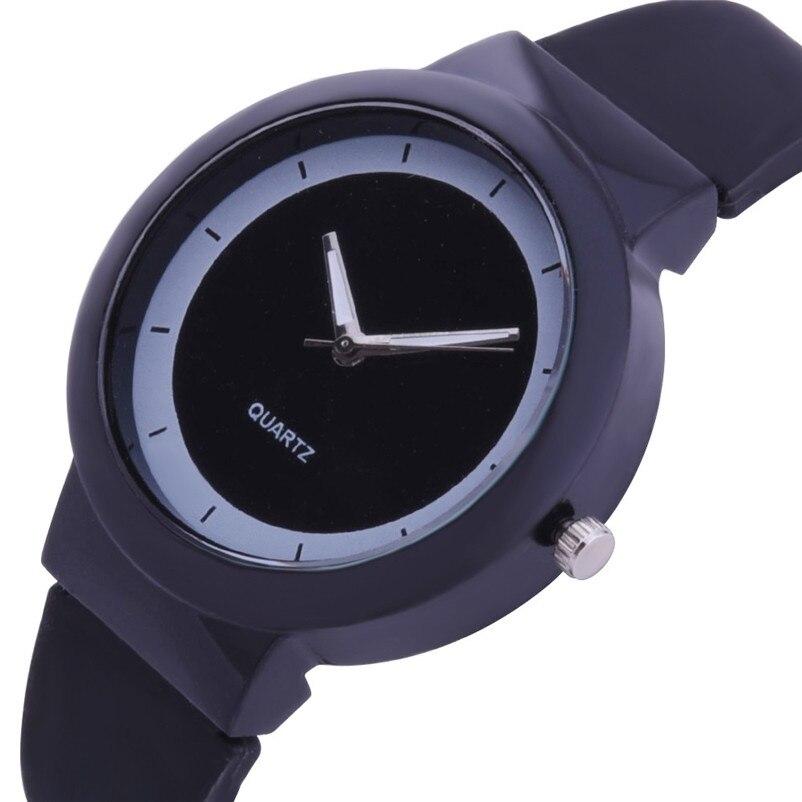 Fashion women watches bracelet watch ladies Silicone Band Analog Quartz Round Wrist Watch Watches clock Relogio Masculino S20 (10)