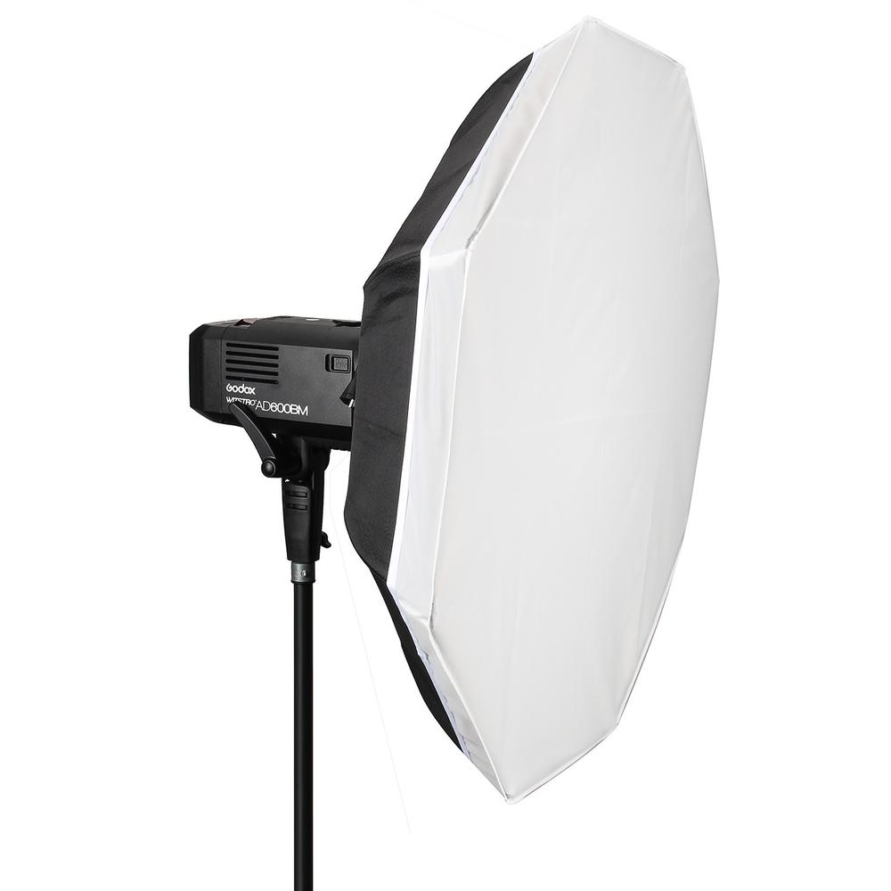 Fotopal Flash Diffuser 40 100CM Foldable Portable Folding Beauty Dish Silver Softbox With Bowens Mount Reflectors Photography