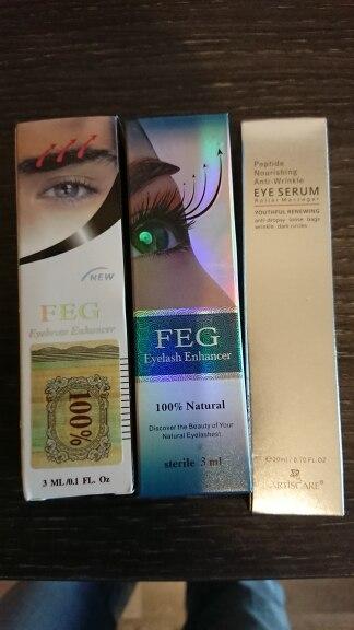 FEG Eyebrows Eyelash Enhancer Feg Original Rising Eyebrow Growth Serum Long Thicker Cosmetics Set crescer sobrancelha crece ceja
