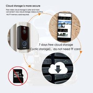 Image 5 - EKEN V7 HD 1080P akıllı WiFi Video kapı zili kamera görsel interkom gece görüş IP kapı zili kablosuz güvenlik kamera