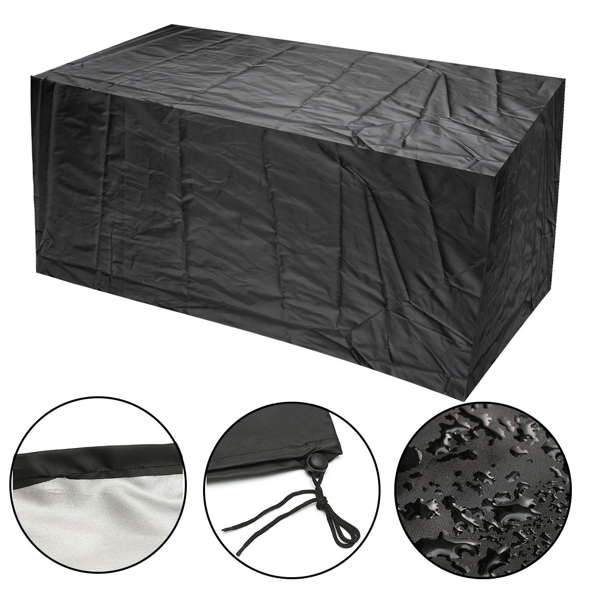 wedlies Outdoor Waterproof Set Cover Chair Table Cloth