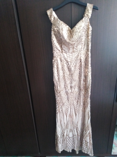Missord Sexy Bra Party Dress Sequin Maxi Dress photo review