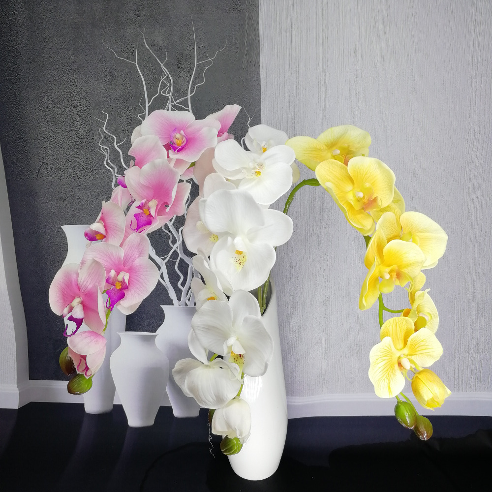 letax Orchid Artificial Flower Cymbidium Flowers for Wedding Decoration for home