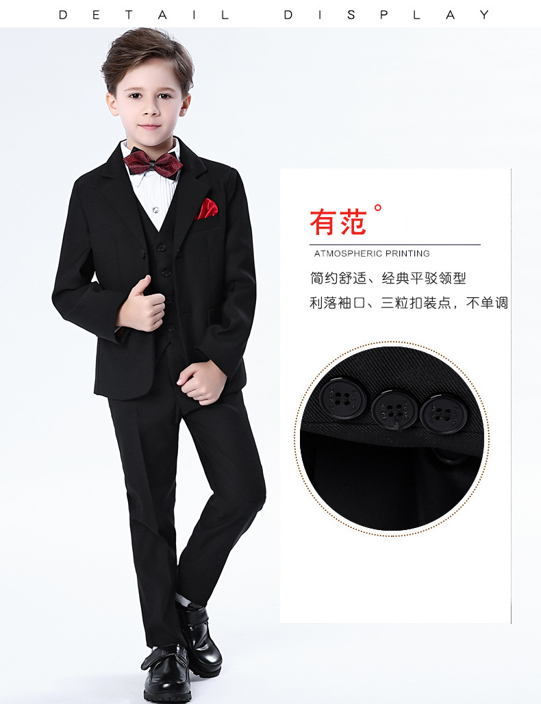Children blue formal suits boy blazers set teenagers jacket trendy winter clothes kids wedding coat outfits piano party costume цена 2017