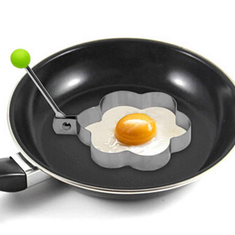 1 Piece Stainless Steel Goreng Telur Pembentuk Telur Goreng Pancake Mould Mold Dapur Memasak Alat