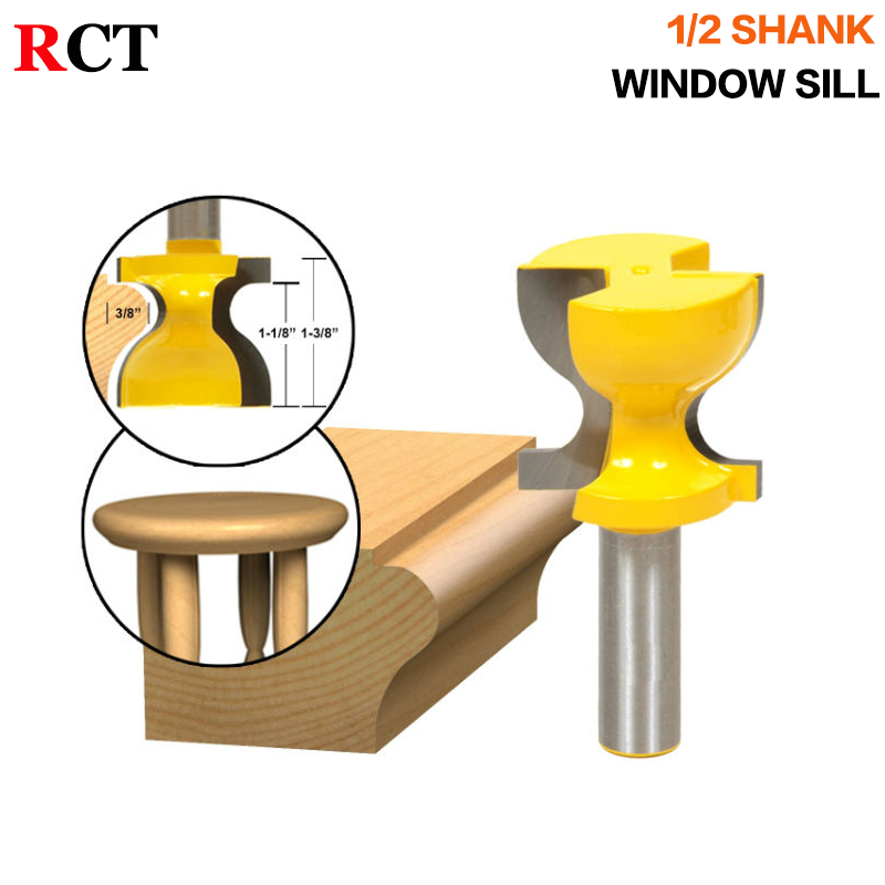 Window Sill, Stool Molding & Door Pull Edge Router Bit C3 Carbide Tipped Wood Cutting Tool woodworking router bits cutting edge elementary workbook