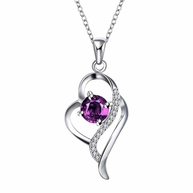 925 Sterling Silver Crystal Necklaces Pendants Sale Pure Silver Cross Jewelry For Women Silver Blue Red Hollow Zircon Necklace 3