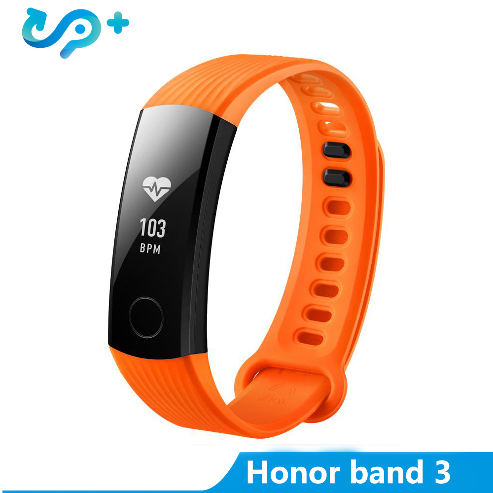 Original Huawei Honor Band 3 Smart Wristband Bracelet Swimmable 5ATM 0.91 OLED Screen Touchpad Heart Rate Monitor Push MessageOriginal Huawei Honor Band 3 Smart Wristband Bracelet Swimmable 5ATM 0.91 OLED Screen Touchpad Heart Rate Monitor Push Message