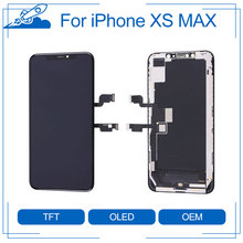 Elekworld Super Quality OEM Full Front Assembly for iPhone XS MAX LCD Display Touch Screen Digitizer Assembly Replacement Part