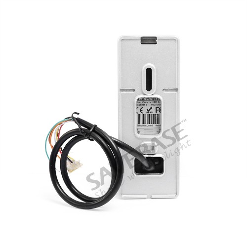 HOMSECUR 7 Verdrahtete Hände freies Video Tür Eintrag Sicherheit Intercom + Schwarz Kamera BC031 B + BM714 S - 3