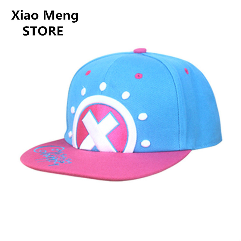 Cotton One Piece Tony Tony Chopper Baseball Caps Hats Japan Anime Chopper Snapback Cap B ...