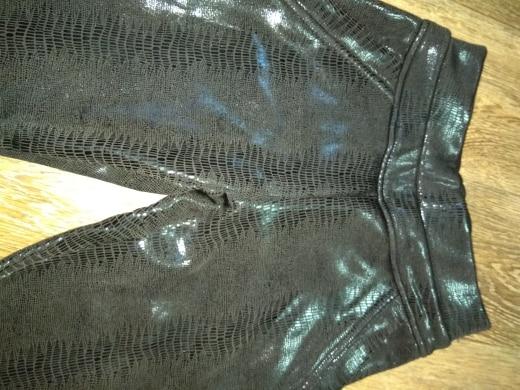 Winter Warm Fleece Women Leather Pencil Pants Pu Botton Breeches High Waist Stretch Plus Size  Female Trouser For Women photo review