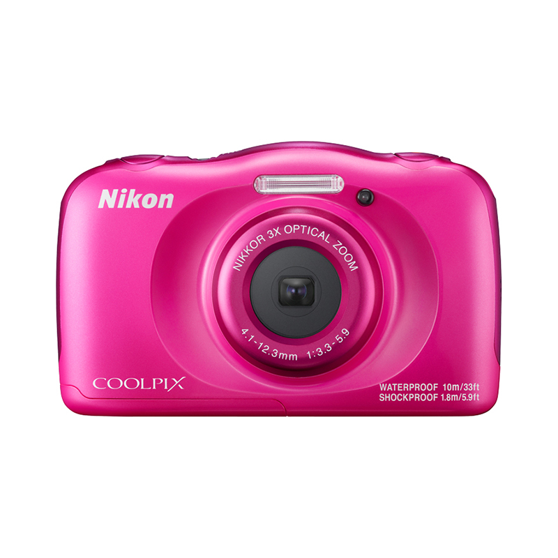 Point & Shoot Camera Nikon COOLPIX W100 Pink original top power board for nikon d810 camera repair replace parts