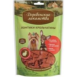 Деревенские лакомства Ломтики крольчатины для собак мини пород 55 г