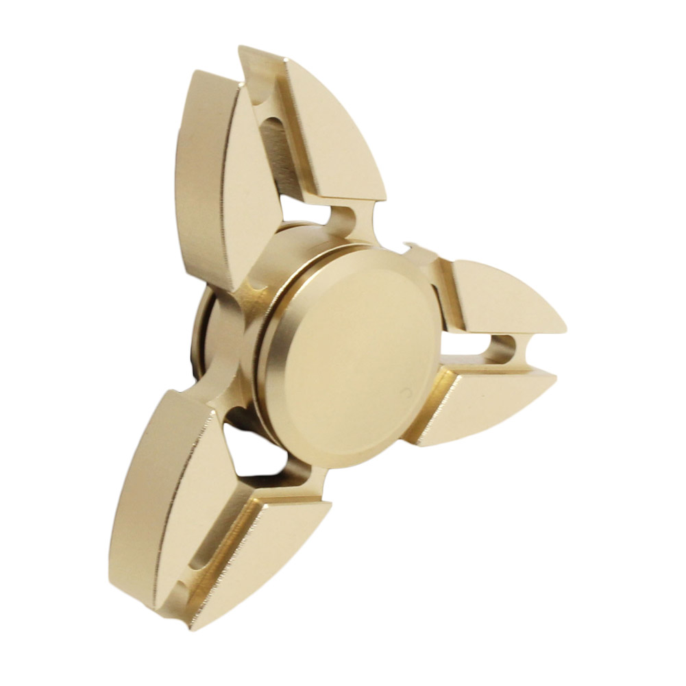 Hot Selling EDC Toys Triangular Spinner orqbar Metal Professional Finger Spinner Autism and ADHD Spiner