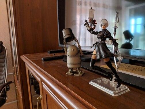 Figuras de ação Brinquedos Boneca Coleção