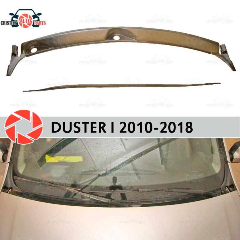 Jabot sob brisa para Renault Duster 2010-2018 capa protetora guarda sob o capô proteção acessórios do carro styling