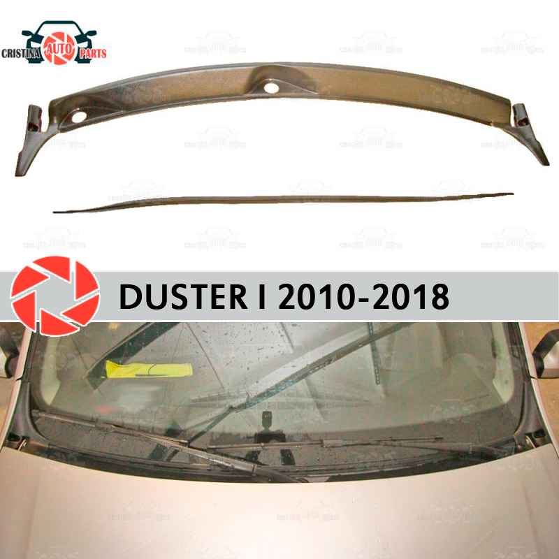Jabot under windshield for Renault Duster 2010-2018 protective cover guard under the hood accessories protection car styling