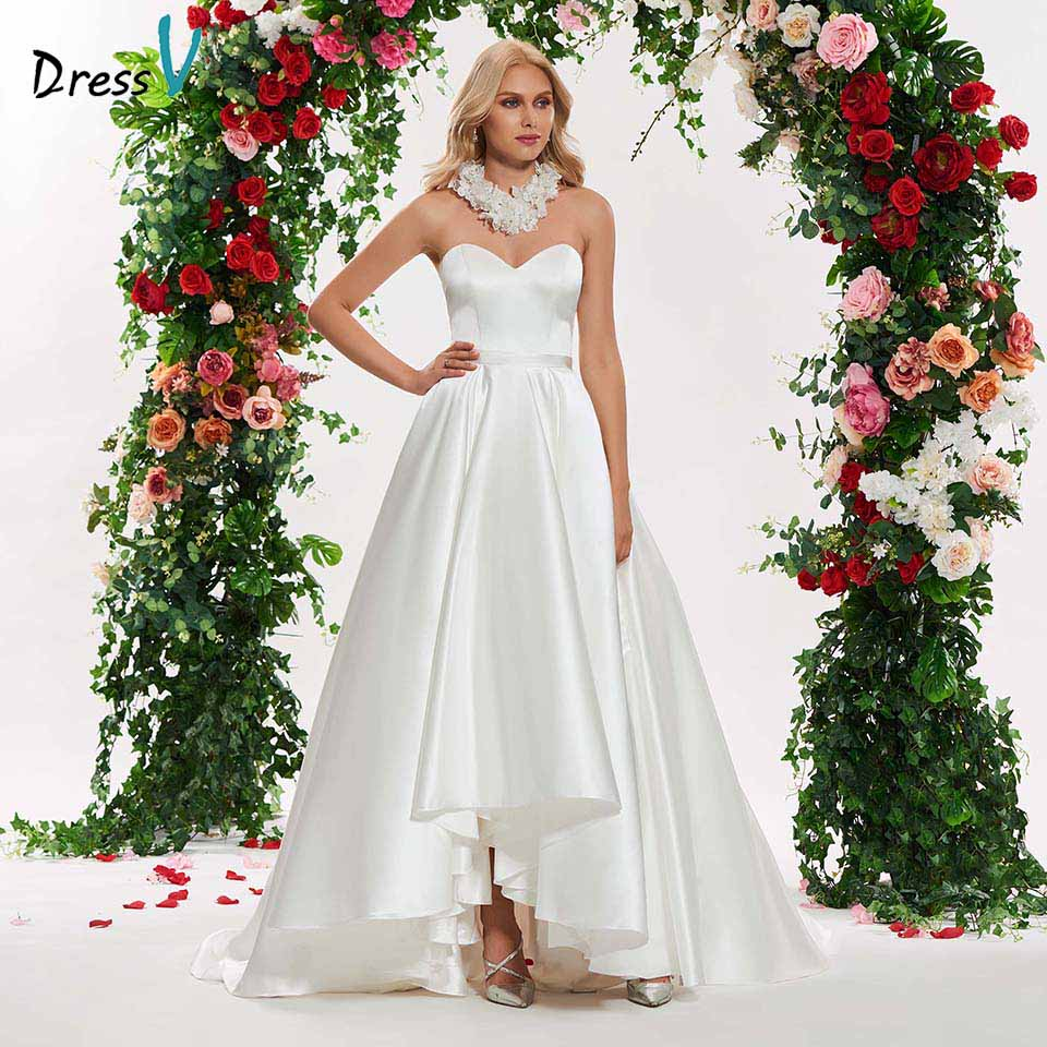 Wedding Ball Gowns Sweetheart Neckline: Aliexpress.com : Buy Dressv Ivory Elegant Sweetheart Neck