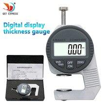 Draagbare Elektronische Meetklok Dikte Mini 0.01 Mm Digitale Diktemeter Meter 12.7 Mm Measure Tool Dial Gauge Tester