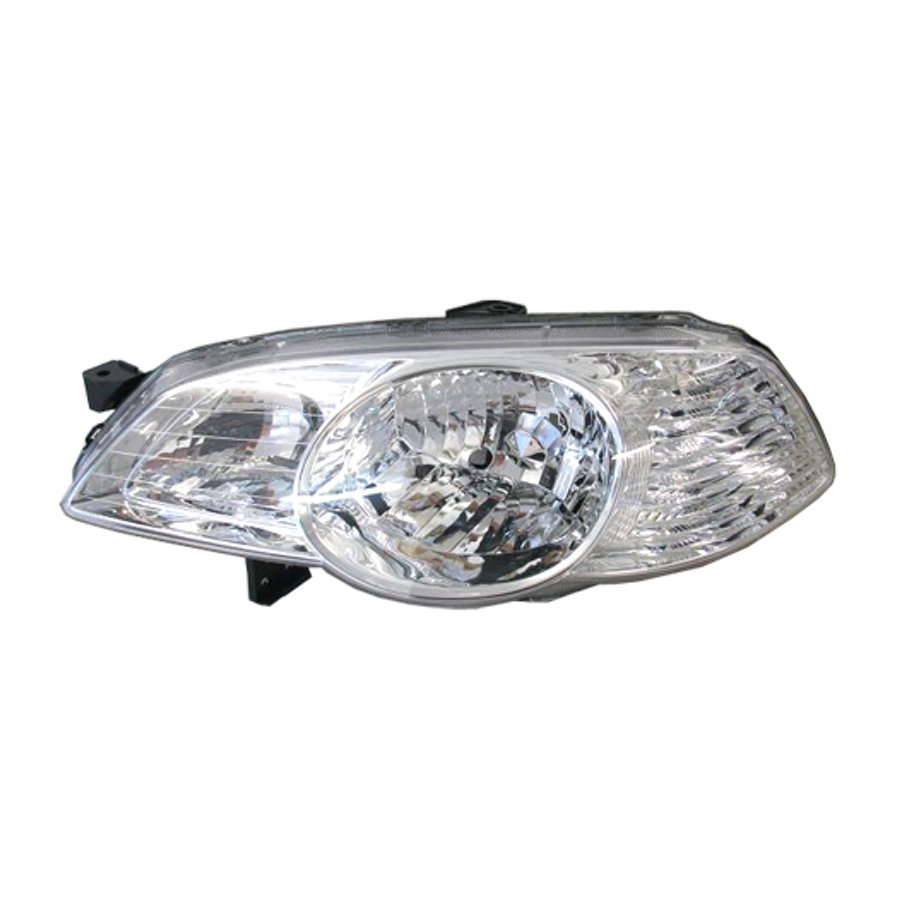 Headlight Left Fits Honda Odyssey 1999 2000 2001 2002 2003 Headlamp Chrome