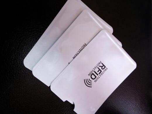 10pcs Anti Rfid Wallet Blocking Reader Lock Bank Card Holder Id Bank Card Case Protection Metal Credit Card Holder Aluminium photo review