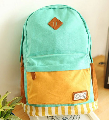 Backpack Multicolored Omo-506 greeeen berlin