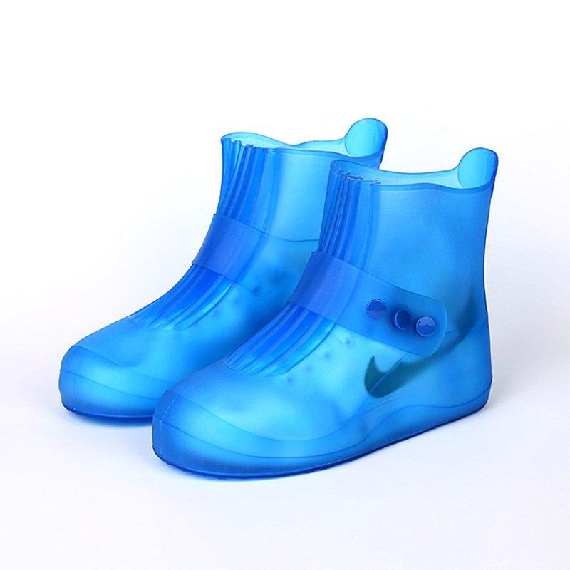 Waterproof Shoe Cover Non-Slip Men Women Kid Elastic Reusable Rain Boot Overshoe