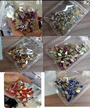Losanges à dos plat 10x6mm, cristaux Non correcteurs, 6 couleurs, strass à dos plat, gemmes pour Nail art, 50 pièces/lot