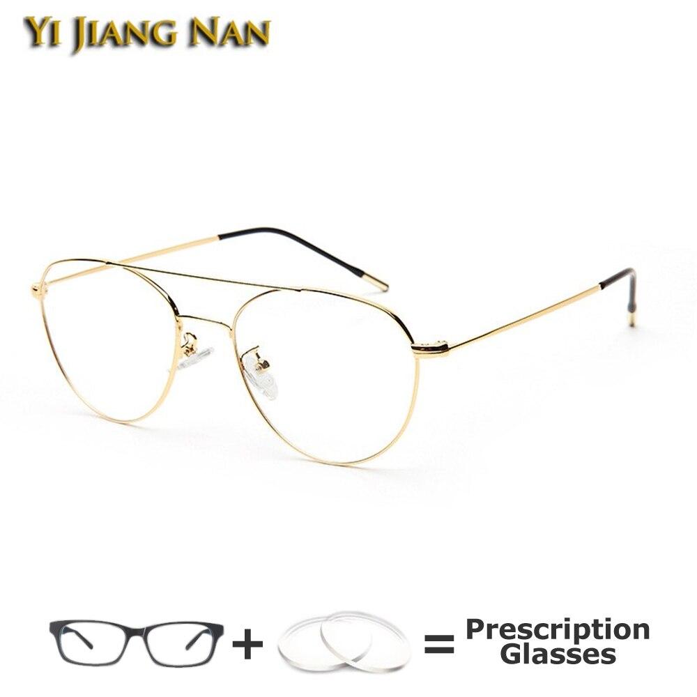 Women Fashion Optical Glasses Prescription Eyeglass Big Frame Lunette De Vue Femme Spectacle Lunette Homme