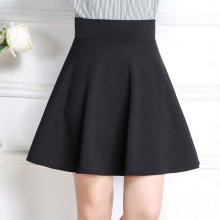 Short Skirt  Women Plus Size School Skirt Women Clothing Pleated Short Skirts Ball Gown Inside Shorts Safe Wearing Mini
