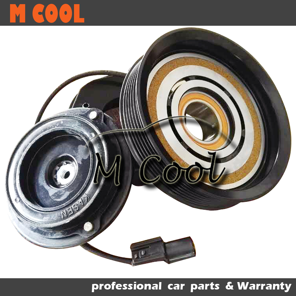 High Quality AC Compressor Clutch For Kia Carnival Sportage For Hyundai Elantra Tucson 16250 2920J 1605022900 162501800K in Air conditioning Installation from Automobiles Motorcycles